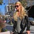 Paris Hilton à Los Angeles, le 18 janvier 2012.