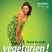 Zara Whites : L'ancienne star du porno couverte de salade