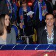 La princesse Stéphanie et sa fille Pauline Ducruet ont fait honneur dimanche 22 janvier 2012 à la quatrième soirée de spectacle du 36e Festival international du cirque de Monte-Carlo.