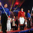 Dimanche 22 janvier 2012, quatrième soirée de spectacle au 36e Festival international du cirque de Monte-Carlo.
