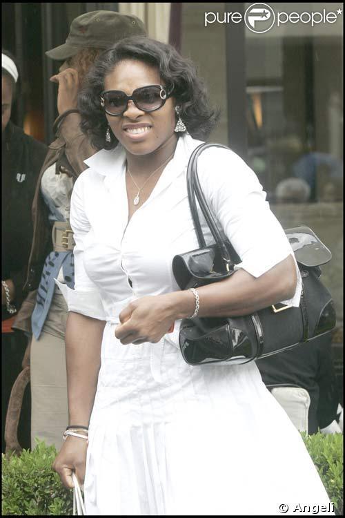 Serena Williams : faute de goût à Paris