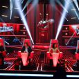 Les quatre coachs de The Voice