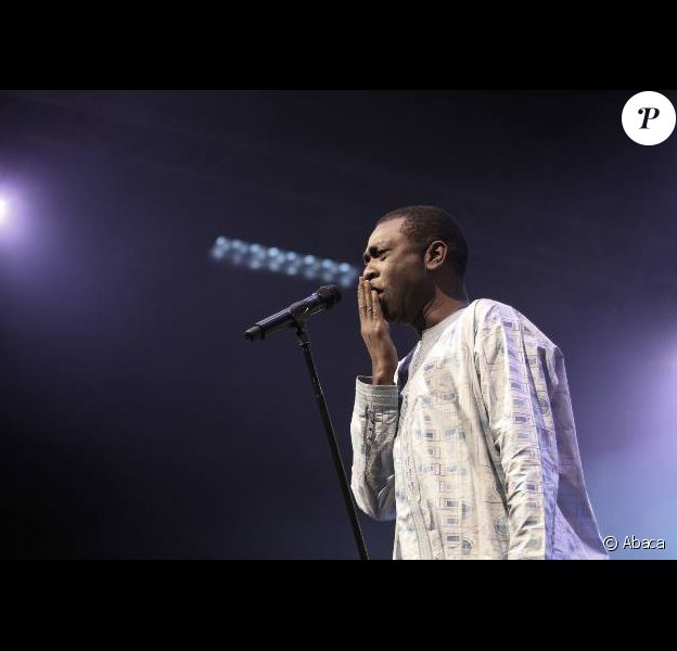 Youssou N'Dour le 22 octobre 2010 à Marseille