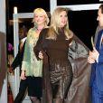 La princesse Maxima des Pays-Bas, habillée en Jan Taminiau, assistait le 27 janvier 2012 à la finale du concours Green Fashion dans le cadre de la Fashion Week d'Amsterdam.