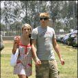 Jamie Lynn Spears et son petit ami Casey Aldridge le 10 juin 2007, à Los Angeles.