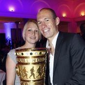 Arjen Robben : Troisième enfant pour la star du Bayern et sa femme Bernadien