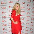 Lumineuse et souriante, Christie Brinkley était une des nombreuses stars à défiler pour l'association The Heart Truth. New York, le 8 février 2012.