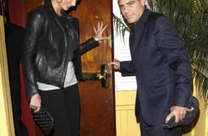 George Clooney : Dîner romantique avec sa belle Stacy Keibler