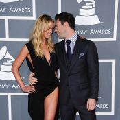 Grammys, les couples : Adam Levine et Anna V. torrides, Lily Aldridge enceinte