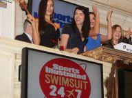 Irina Shayk : Le top model se mue en sexy agent de la Bourse new-yorkaise