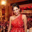 Rosario Dawson avait une vue imprenable sur le 56e Bal de l'Opéra de Vienne.   Comme chaque année, de nombreuses célébrités et personnalités ont assisté en toute élégance au 56e Bal de l'Opéra de Vienne, le 16 février 2012.