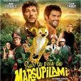 L'affiche du film Sur la piste du Marsupilami