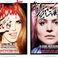 Lana Del Rey fait la couverture du magazine  Lovecat , diamants à la clé.