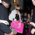 Rihanna à Londres, le 20 février 2012.