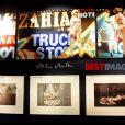 Exposition Zahia de 5 à 7, à la galerie du Passage, à Paris, le 7 février 2012