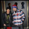 Pierre et Gilles lors du vernissage de l'exposition Zahia de 5 à 7, à la galerie du Passage, à Paris, le 7 février 2012