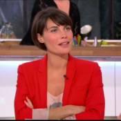 Alessandra Sublet, enceinte, fête sa 500ème émission de C à Vous !