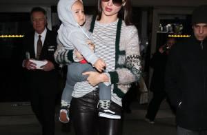 Miranda Kerr et son gros bébé Flynn, retour mérité à la maison