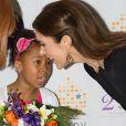 Accueillie avec des fleurs comme il se doit, la princesse Mary de Danemark ouvrait le 27 février 2012 la 2e Conférence mondiale sur les Foyers d'hébergement pour femmes victimes de violences, à Washington. Un des principaux champs d'action de sa fondation, Mary Fonden.
