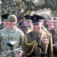 Le prince Charles était le 1er mars 2012 en visite chez les Welsh Guards, à la caserne d'Hounslow (ouest de Londres), pour le jour de la saint David. Il a profité de sa venue pour s'initier au paintball.