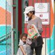 Halle Berry et sa fille Nahla en février 2012