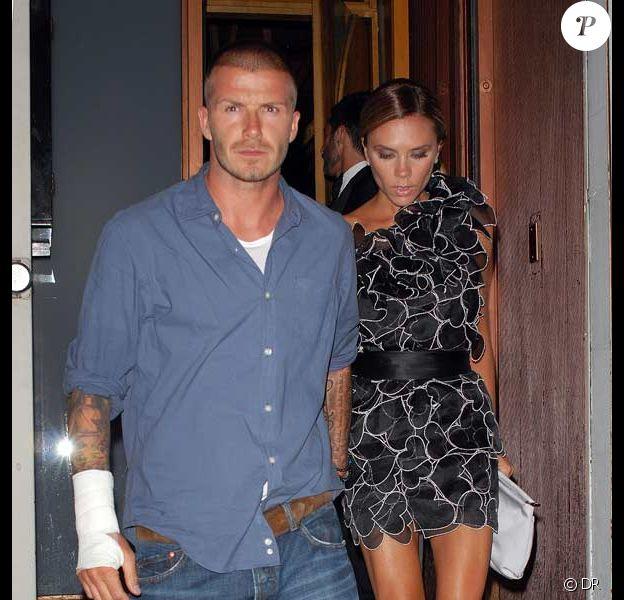 David et Victoria Beckham, un couple très mal assorti !