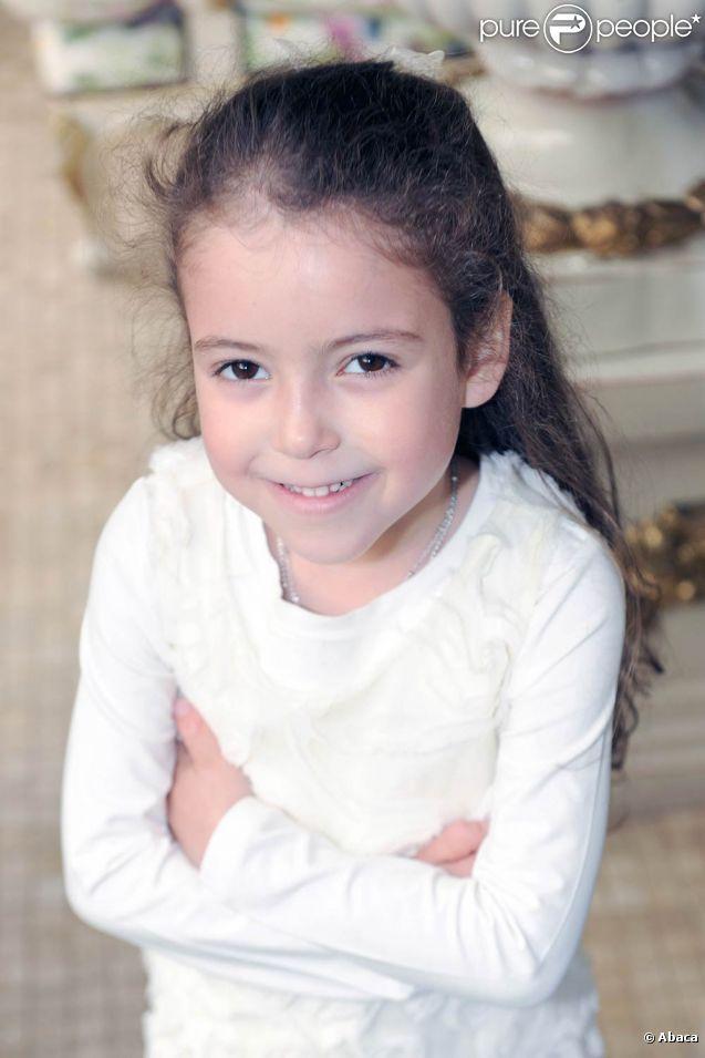 La princesse Lalla Khadija du Maroc a eu 5 ans le 28 février 2012.