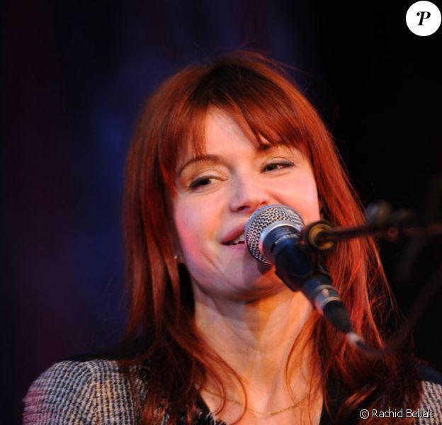 Axelle Red lors de la soirée Innocence en danger, au Pavillon Gabriel, le 8 mars 2012