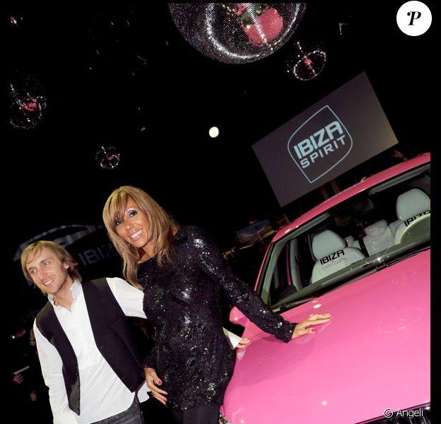 David et Cathy Guetta à la soirée SEAT
