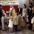 Baptême du prince Henrik le 26 juillet 2009. Sa petite soeur née le 24 janvier 2012 vivra à son tour ce moment le 20 mai 2012.