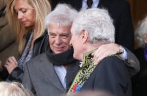 Obsèques de Félicien Marceau: Guy Bedos et Jean-Loup Dabadie unis dans l'épreuve