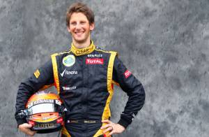 Romain Grosjean : retour à la F1 sous les yeux de sa belle Marion Jollès