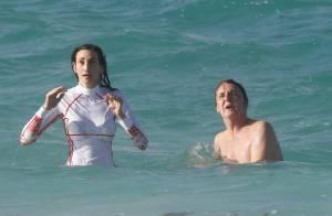 Paul McCartney et Nancy : Pause câline à Saint-Barth, Nancy se baigne... habillée