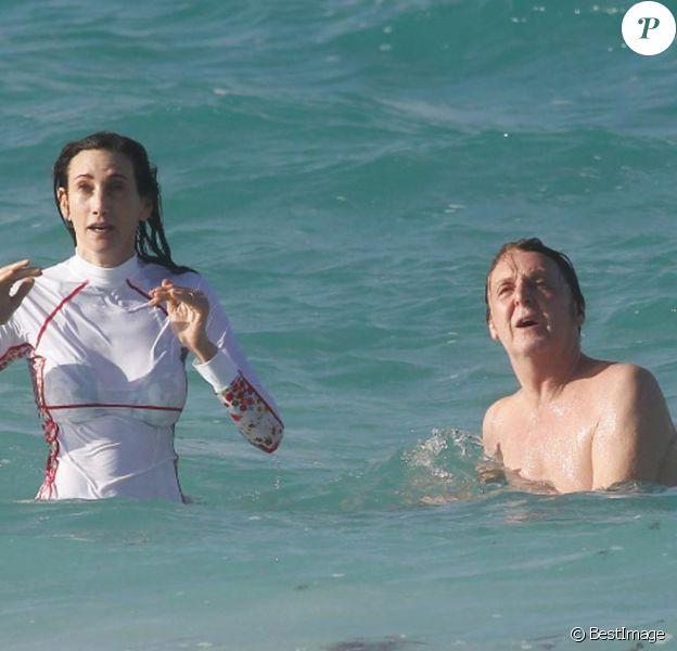 Exclusif : Paul McCartney et son épouse amoureux à Saint Barthélémy le 15 mars 2012