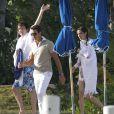 Exclusif : Paul McCartney et son épouse se baignent à Saint Barthélémy le 15 mars 2012