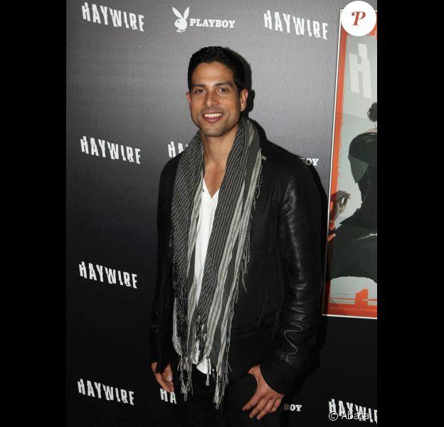 Adam Rodriguez, en janvier 2012 à Los Angeles.