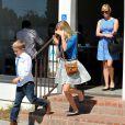 Reese Witherspoon et ses deux enfants Ava et Deacon