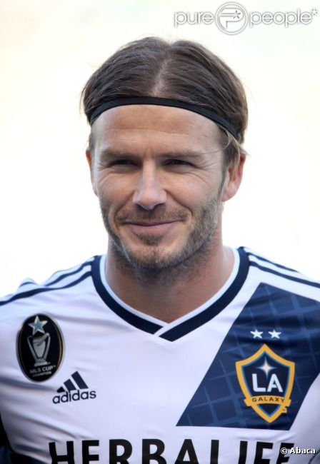 David Beckham le 18 mars 2012 au Home Depot Center de Carson City