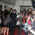 """Kim Kardashian totalement enfarinée le 22 mars de 2012 à l'Hotel Londres de West Hollywood"""