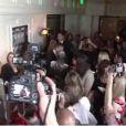 """""""Kim Kardashian victime d'un lancer de farine le 22 mars 2012 à West Hollywood"""""""