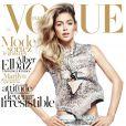 Doutzen Kroes, habillée en Givenchy prêt-à-porter printemps/été 2012 en couverture du magazine Vogue Paris d'avril 2012.