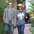 Olivier Martinez et Halle Berry le 2 mars 2012 à Beverly Hills