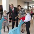 La princesse Mary de Danemark inaugurait le 28 mars 2012 le centre mère-enfant de l'hôpital de Kolding.
