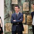 Le prince Frederik de Danemark inaugurait le 28 mars 2012 l'exposition ''l'art danois et l'art international après 1900'', à la galerie nationale de Copenhague.