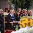 Nicolas Sarkozy et Carla Bruni dans l'église