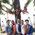 Geoffrey, Anthony, Sofiane, Mohamed et Bruno dans Les Anges de la télé-réalité 4 : Club Hawaï sur NRJ 12 dès le 16 avril 2012