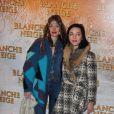 Les Brigitte lors de l'avant-première du film Blanche Neige à Paris au Gaumont Capucines le 31 mars 2012