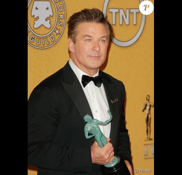 Alec Baldwin lors des Screen Actors Guild Awards le 29 janvier 2012
