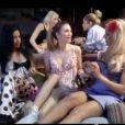 Image du clip de  Les Filles  de Helmut Fritz (Eric Greff), réalisé par Jean-Marie Antonini, dévoilé le 10 avril 2012.