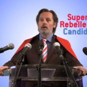 Christophe Alévêque : Candidat libre à la présidentielle et Super Rebelle !